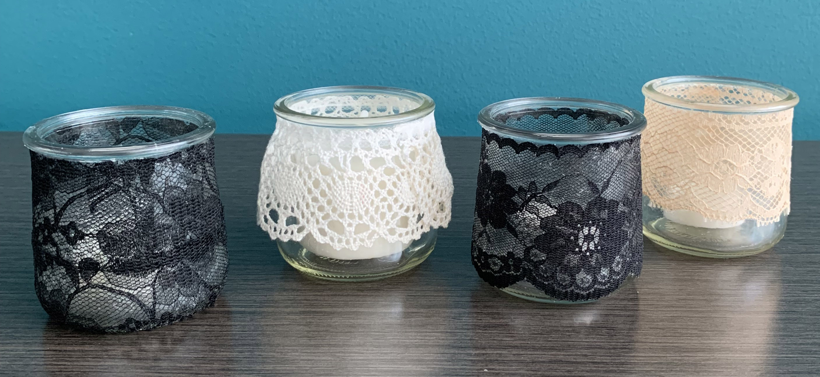 jars with candles