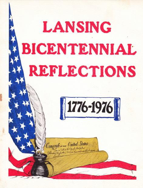 Lansing Bicentennal Reflections book cover