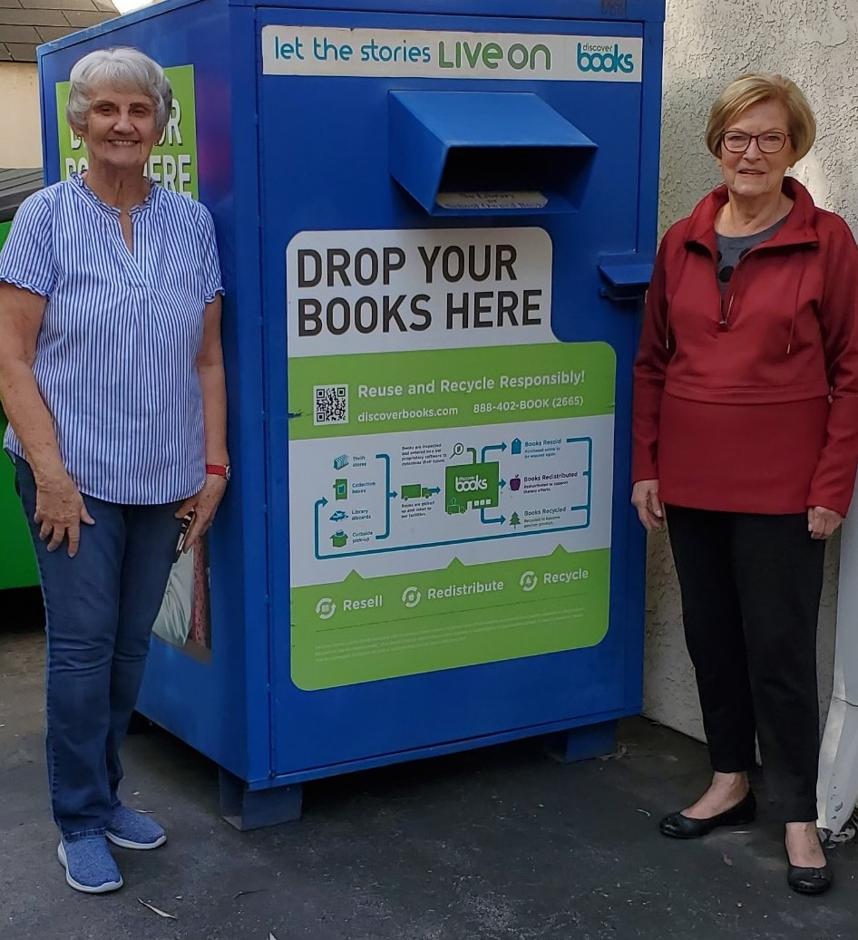 Spring Cleaning? Where to Take Book Donations