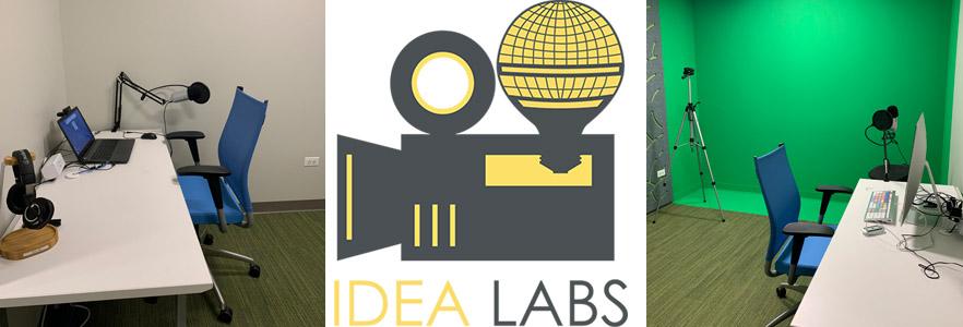 IDEA Labs photos with logo